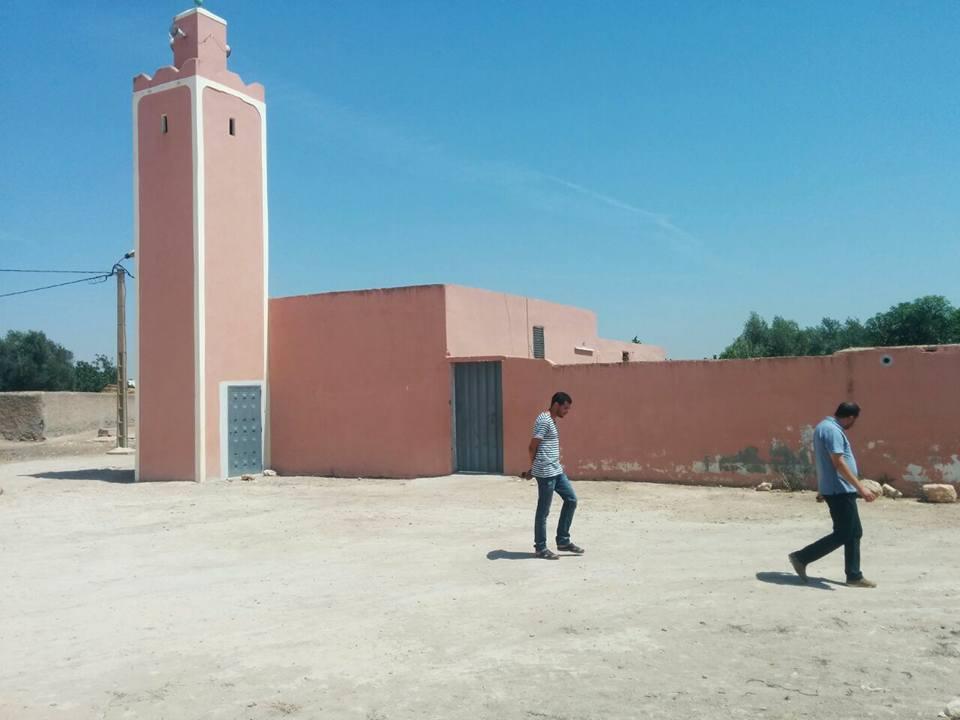 Aménagement de la mosquée